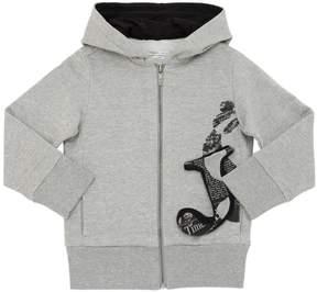 John Galliano Hooded Cotton Sweatshirt