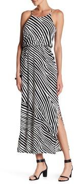 Nine West Blouson Maxi Dress