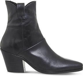 Office Argentina heeled leather ankle boots