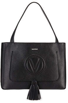 Mario Valentino Valentino By Ollie Dollaro Leather Tassel Tote Bag
