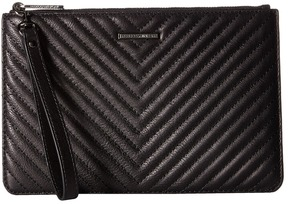 Rebecca Minkoff Wristlet Pouch Wallet Handbags - BLACK - STYLE
