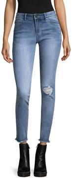 Armani Exchange Women's Distressed Cotton Jeans
