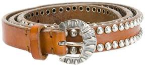 Golden Goose Deluxe Brand studded buckled belt