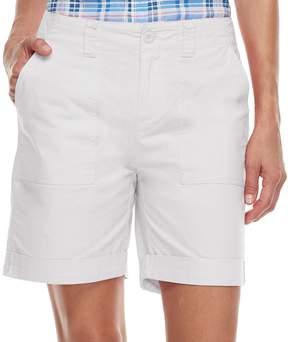 Caribbean Joe Women's Convertible Cuffed Shorts