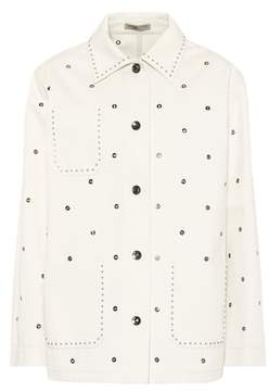 Bottega Veneta Cotton eyelet jacket