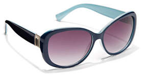 New York & Co. Metallic-Trim Sunglasses