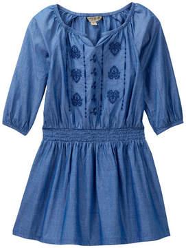 Lucky Brand Amanda Smocked Waist Denim Dress (Little Girls)