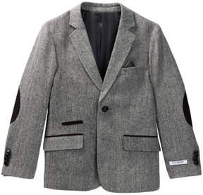 Isaac Mizrahi Tweed Contrast Blazer (Toddler, Little Boys, & Big Boys)