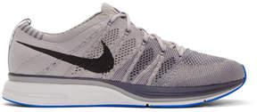 Nike Grey Flyknit Trainer Sneakers