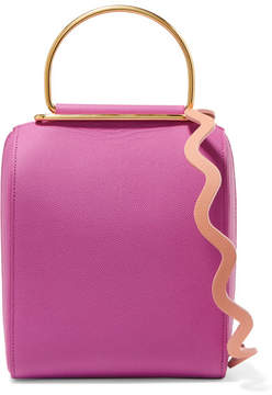 Roksanda - Besa Textured-leather Shoulder Bag - Pink