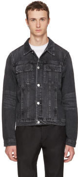 Helmut Lang Grey Denim Mr. 87 Jacket