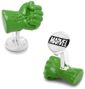 Marvel 3D The Incredible Hulk Fist Cuff Links