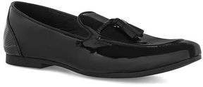 Topman Black Patent Flute Loafers