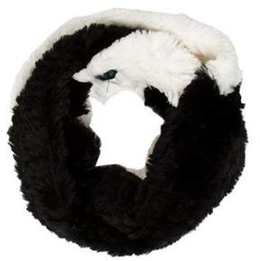 Jocelyn Bi-Color Fur Scarf