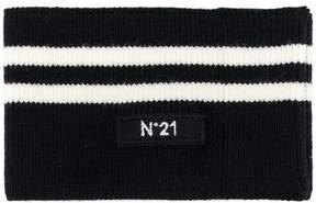 No.21 stripe scarf