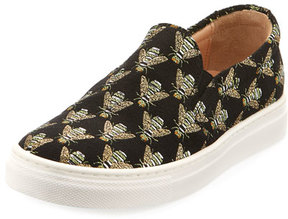 Aquazzura Cosmic Slip-On Bee Sneaker, Toddler/Youth