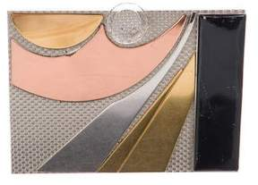 Judith Leiber Geometric Box Clutch