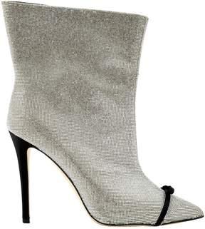 Marco De Vincenzo Glitter ankle boots