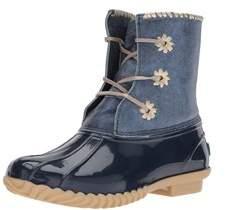 Jack Rogers Women's Chloe Metallic Rain Boot.