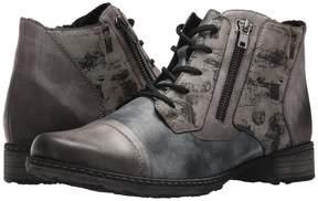 Rieker D4378 Chandra 78 Women's Lace-up Boots