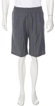 Kris Van Assche Linen-Blend Pleated Shorts w/ Tags