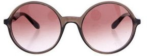 Marc by Marc Jacobs Round Oversize Sunglasses