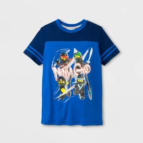 Lego Boys' Ninjago Graphic T-Shirt - Royal/Navy