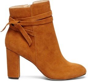 Sole Society Flynn Wrap Around Bootie