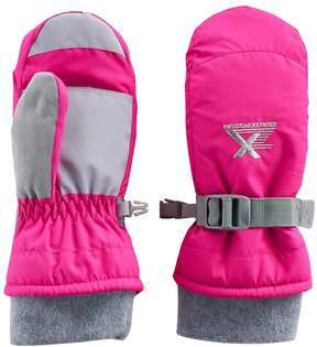 ZeroXposur Girls 4-6x Cynthia Fleece Gaiter Mittens