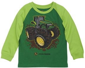 John Deere Toddler Boy Tractor Raglan Tee