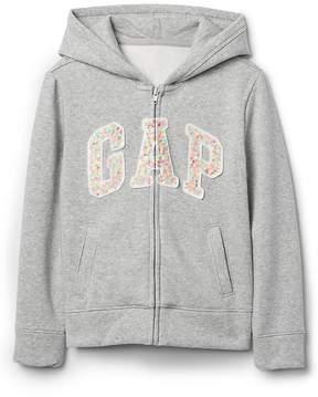 Gap Sequin Logo Hoodie Sweatshirt