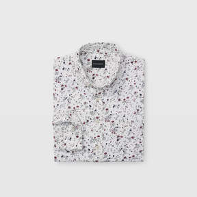 Club Monaco Slim Double-Faced Floral Shirt