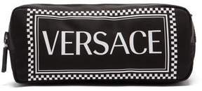 Versace Logo Print Belt Bag - Womens - Black Multi