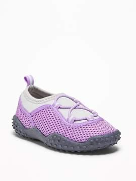 Old Navy Mesh Swim Shoes for Toddler Girls