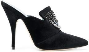 Chiara Ferragni Logomania heeled mules