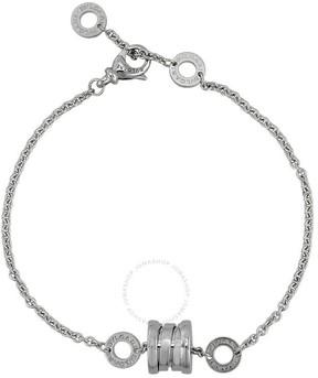 Bvlgari B.zero1 18kt White Gold Soft Bracelet