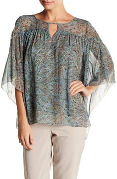 Calypso St. Barth Tonea Paisley Silk Top