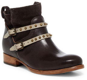 Alberto Fermani Emma Studded Buckle Strap Ankle Boot