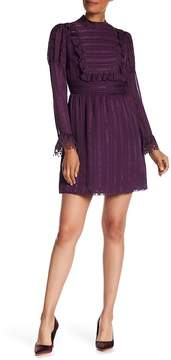 Anna Sui Daisy Chain Jacquard Silk Dress
