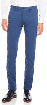 Ganesh Blue Slim Fit Pants