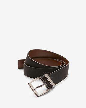 Express Reversible Matte Strap Prong Buckle Belt