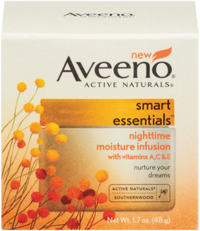 Aveeno Smart Essentials Nighttime Moisture Infusion