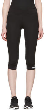 adidas by Stella McCartney Black 3-4 Leggings