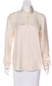 O'2nd Paneled Button-Up Top