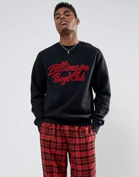Billionaire Boys Club Sweatshirt With Chenille Script Logo