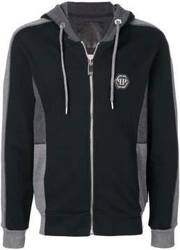 Philipp Plein Gone Going zip front hoodie