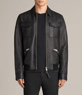 AllSaints Hester Leather Jacket