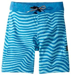 Volcom Mag Vibes Elastic Boardshorts Boy's Swimwear