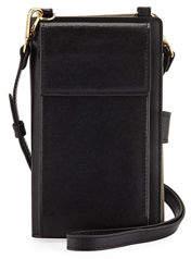 Neiman Marcus Saffiano Phone Crossbody Bag
