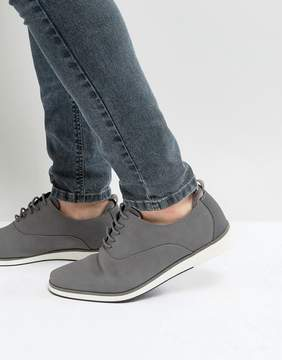 Call it SPRING Shysie Lace Up Shoes In Gray